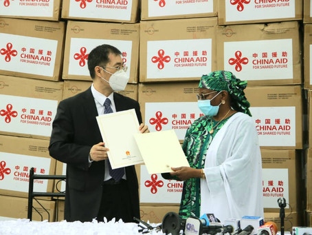 Photo News:Handing over ceremony of medical equipment donated by Chinese First Lady to Nigeria