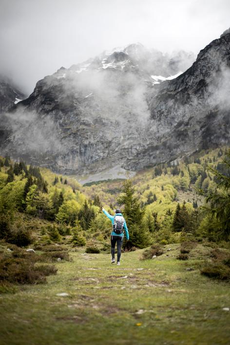 Hiking Wilder Kaiser