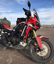 Honda Africa Twin Rental on the NVBDR.