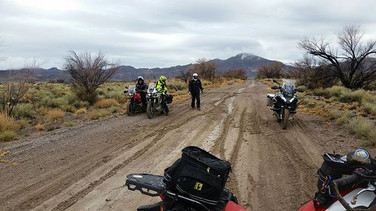 Rain and slippery riding conditions on our first day of the #BestoftheDesertAdventure but everyone came out with smiles on their faces.jpg