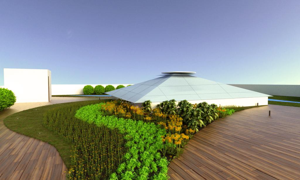 Jardin en terraza