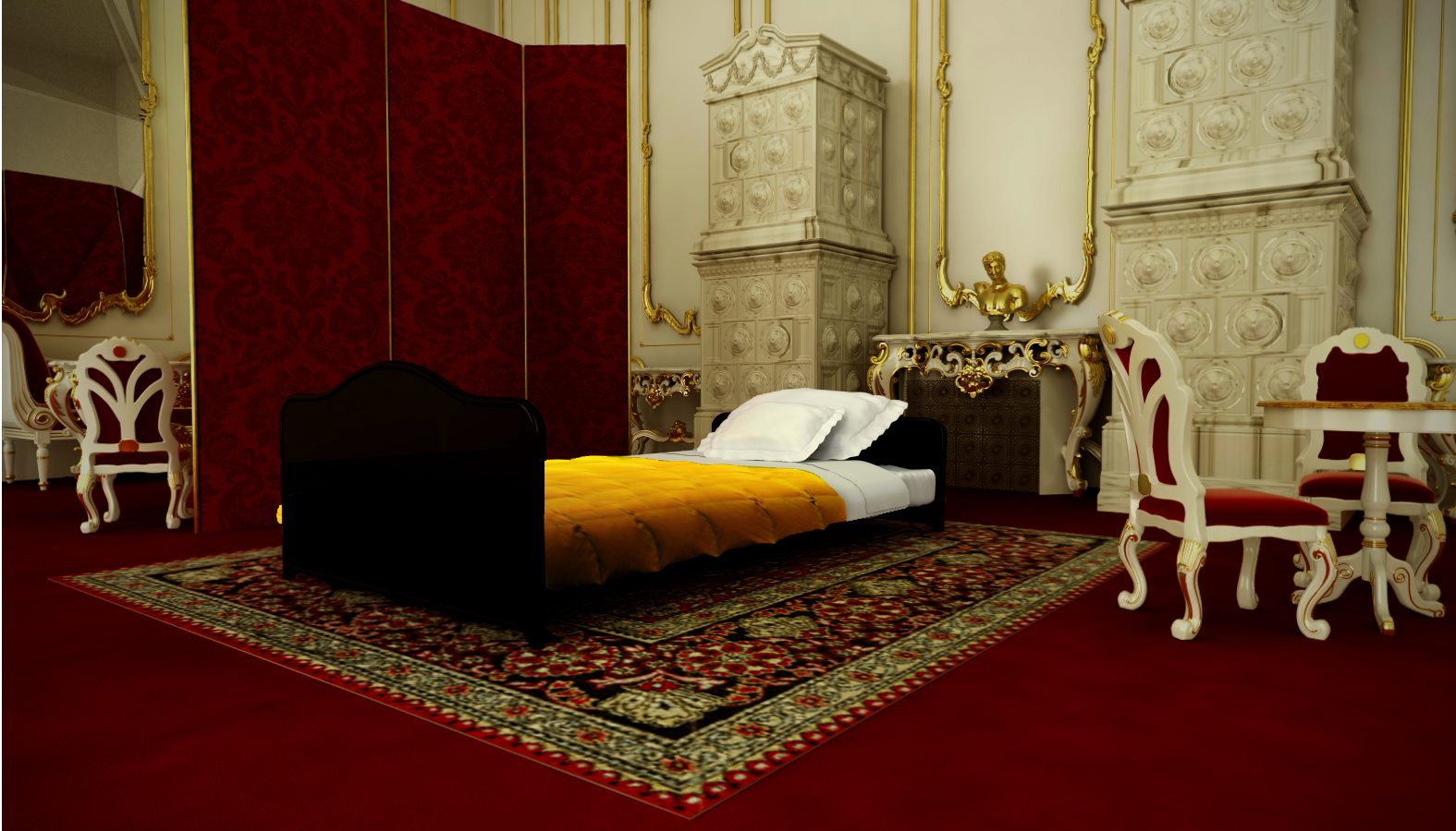 Dormitorio Reina SISSI