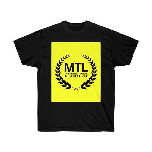 Yellow Graphic Tee Montreal International Film Festival