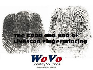Recording Legible Fingerprints Using a Livescan System