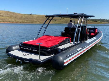 Flexboat com tema do Flamengo