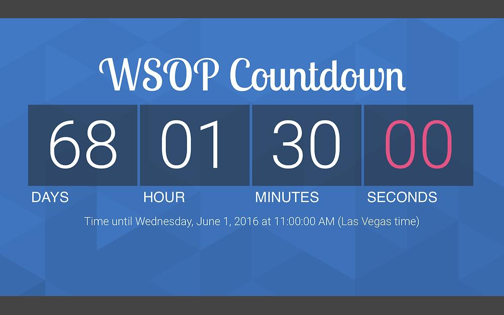 WSOP Countdown
