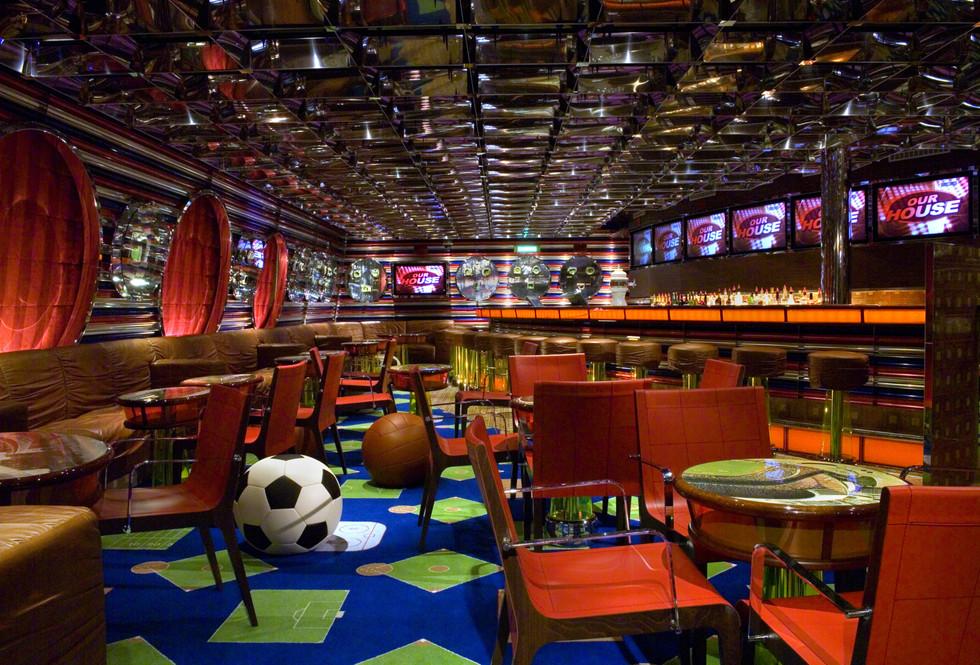 Carnival Splendor Sports Bar