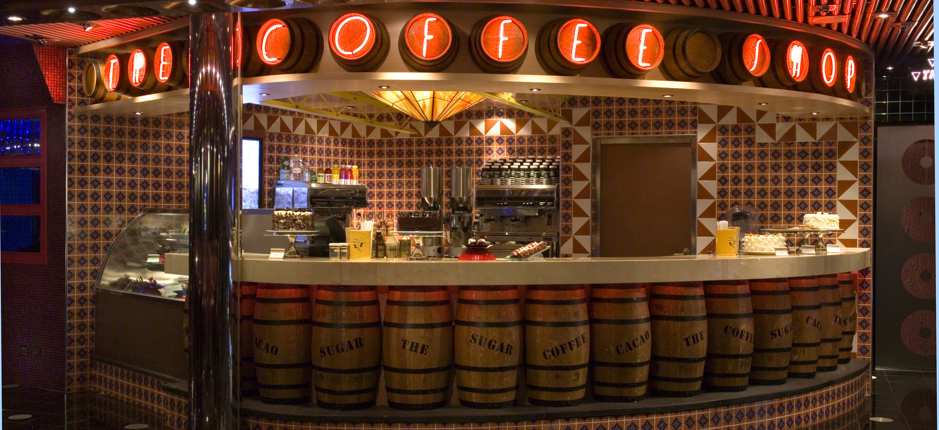 Carnival Splendor Coffee Shop