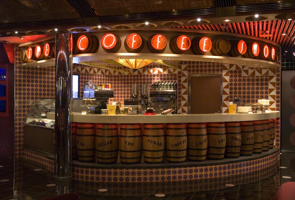 Carnival Splendor Coffee Shop