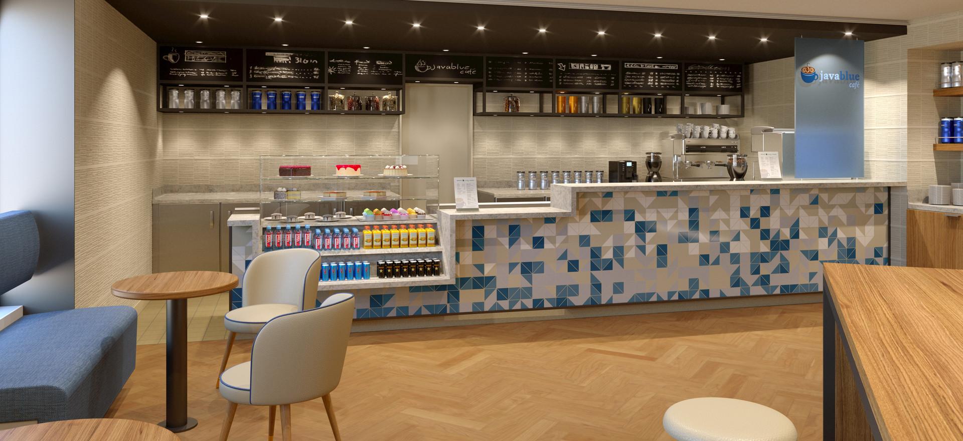 Java Blue Cafe