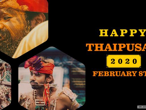 Happy Thaipusam 2020!!