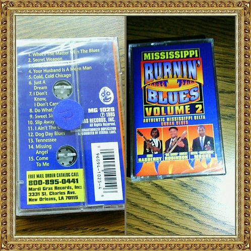Mississippi Burnin Cassette Tape