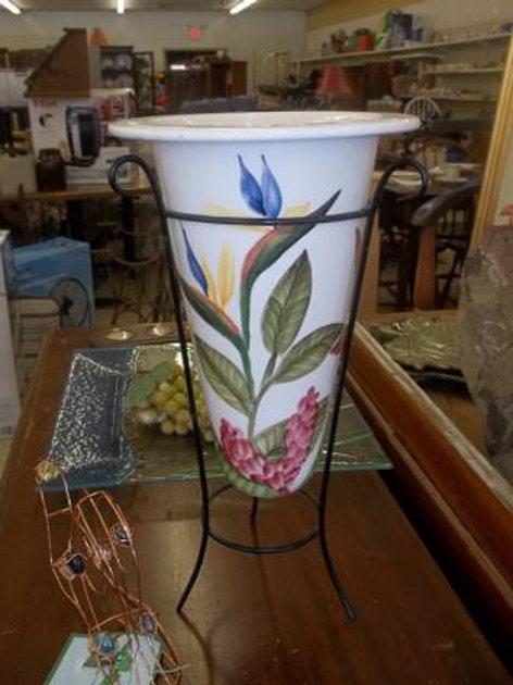Vase & Stand