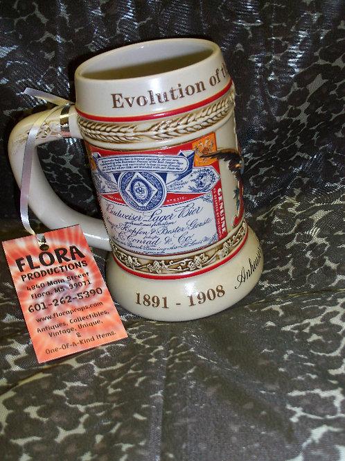 1999 State Convention Budweiser Stein