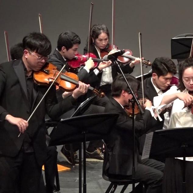 오케스트라 violinist 이소라 ,강지훈