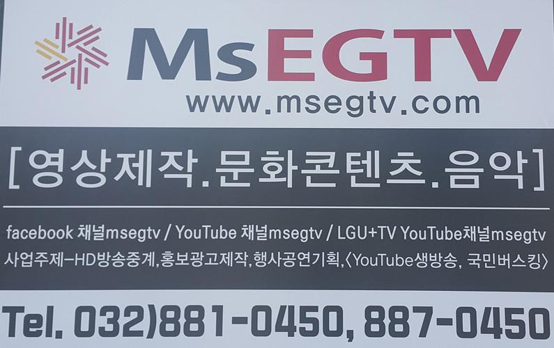 MsEGTV 회사소개