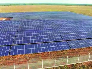Minas tem primeira fazenda de energia solar
