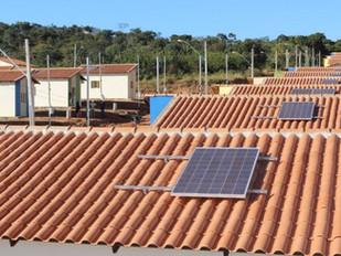 Casas Populares com Energia Solar