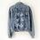 Thumbnail: Pearl Personalised Denim Jacket