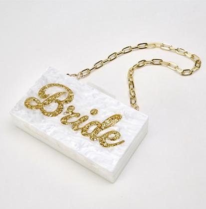Bride Acrylic Clutch Bag