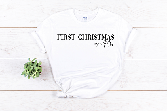 First Christmas as a Mrs Tee