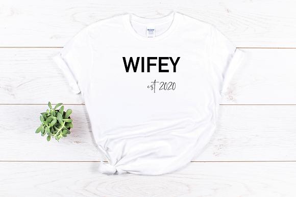 Wifey est 2020 Tee