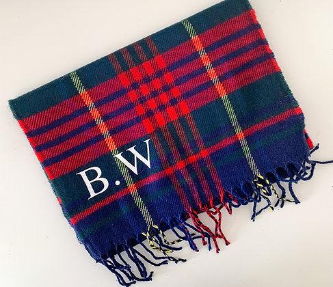 Personalised scarf
