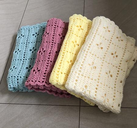 Hand Crochet Pram Blanket