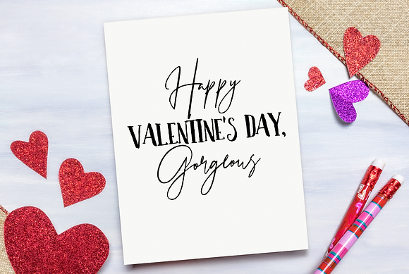 Happy Valentines Day Gorgeous Card