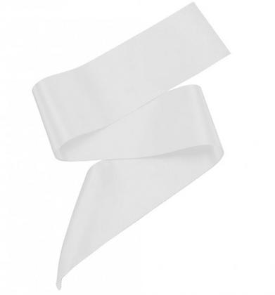 White Personalised Sash