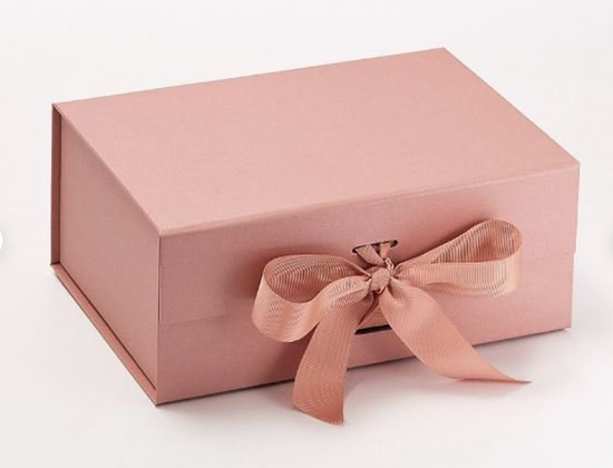 Rose Gold Personalised Gift Box