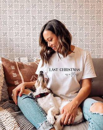 Last Christmas as a Miss Tee