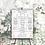 Thumbnail: Wedding Infographic Foamboard