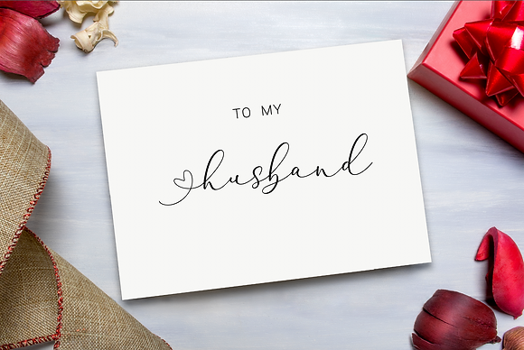 To my  Husband/Wife Valentines Day Card
