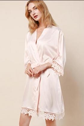 Clearance Robe - Blush Pink
