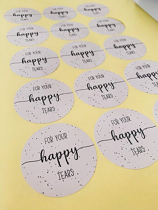'For Your Happy Tears' Sticker Sheet