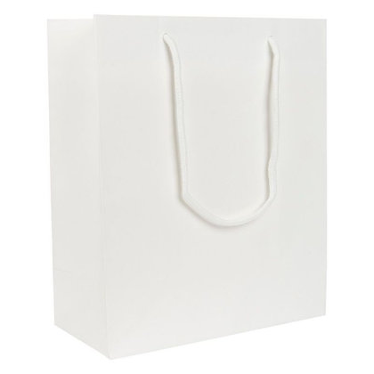 Personalised Portrait White Gift Bag