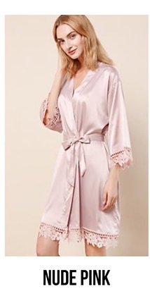 Clearance Robe - Nude Pink