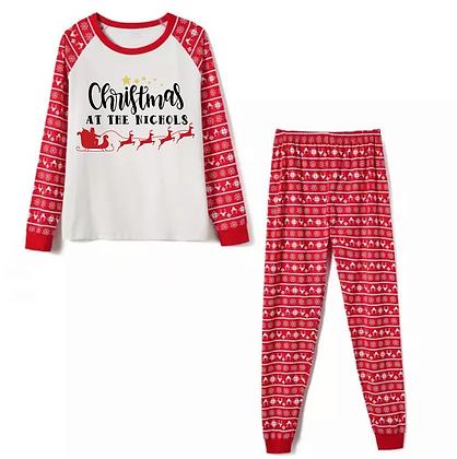 Personalised Family Pyjamas