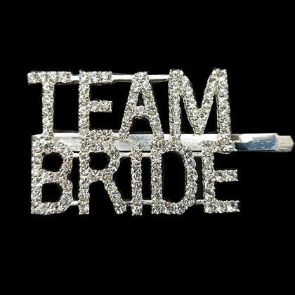 Team Bride Hairslide