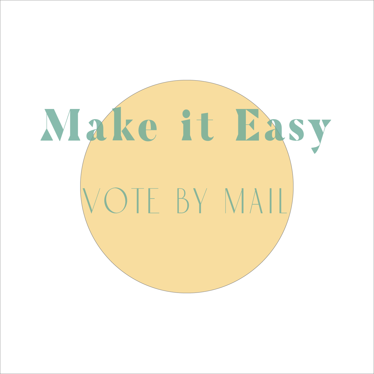 make it easy (new font)