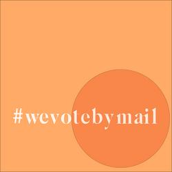 #wevotebymail (new font)