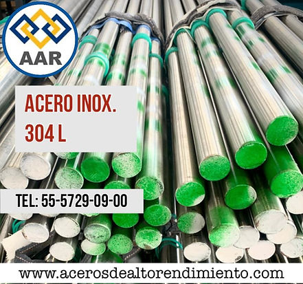304L ACERO INOXIDABLE