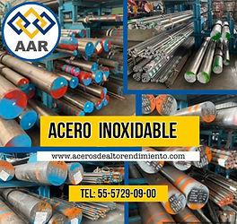 ACERO INOXIDABLE 304L, 316L 410 416 420