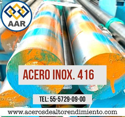 ACERO INOXIDABLE 416
