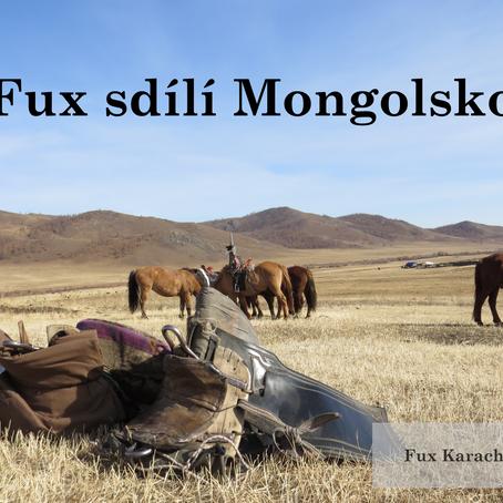Fux sdílí Mongolsko