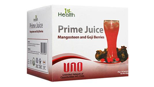 1ST HEALTH PRIME JUICE MANGOSTEEN AND GOJI BERRIES