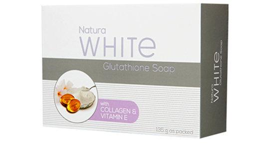 NATURAWHITE GLUTATHIONE SOAP WITH COLLAGEN AND VITAMIN E