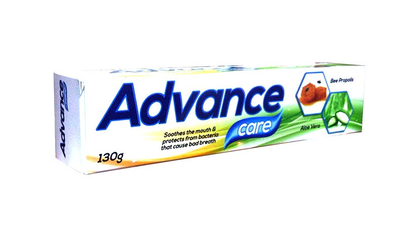 ADVANCE CARE TOOTH GEL ALO VERA EXTRACT WITH BEE PROPOLIS TOOTHGEL