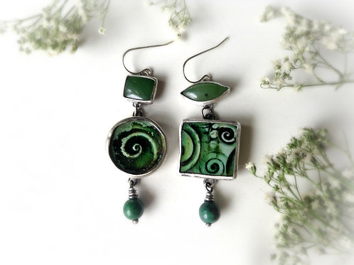 spiraling greens
